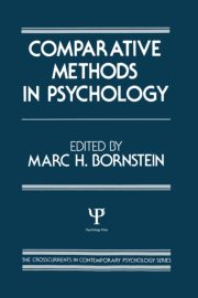 Comparative Methods in Psychology - 1st Edition book cover
