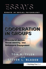 Cooperation in Groups - 1st Edition book cover