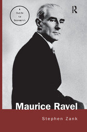 Maurice Ravel - 1st Edition book cover