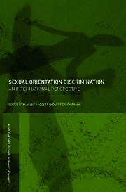 Sexual Orientation Discrimination - 1st Edition book cover