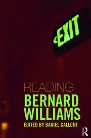 Reading Bernard Williams - 1st Edition book cover