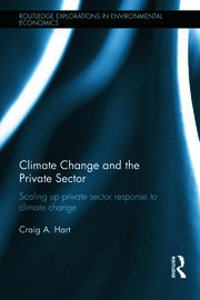 Climate Change and the Private Sector - 1st Edition book cover