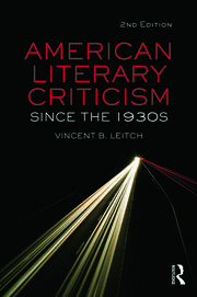 American Literary Criticism Since the 1930s - 2nd Edition book cover