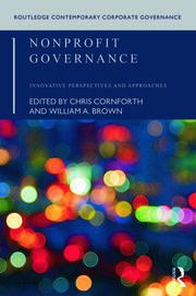 Nonprofit Governance - 1st Edition book cover