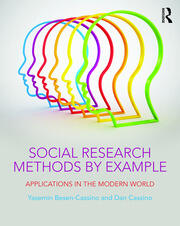 Social Research Methods by Example : Applications in the Modern World - 1st Edition book cover
