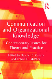 Communication and Organizational Knowledge - 1st Edition book cover