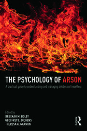 The Psychology of Arson - 1st Edition book cover