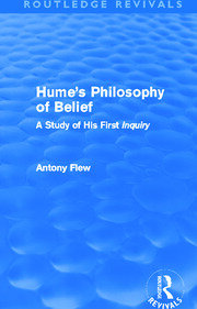 Hume's Philosophy of Belief (Routledge Revivals) - 1st Edition book cover