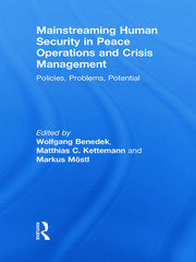 Mainstreaming Human Security in Peace Operations and Crisis Management - 1st Edition book cover