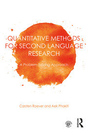 Quantitative Methods for Second Language Research - 1st Edition book cover