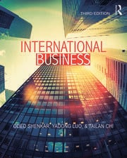 International Business - 3rd Edition book cover