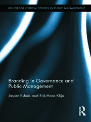 Branding in Governance and Public Management - 1st Edition book cover