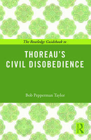 The Routledge Guidebook to Thoreau's Civil Disobedience - 1st Edition book cover