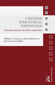 Chinese Industrial Espionage - 1st Edition book cover