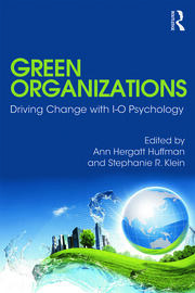 Green Organizations - 1st Edition book cover