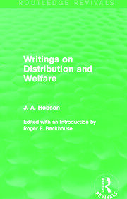 Writings on Distribution and Welfare (Routledge Revivals) - 1st Edition book cover