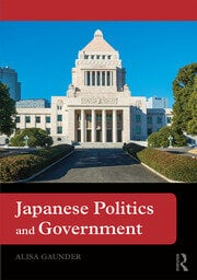 Japanese Politics and Government - 1st Edition book cover