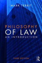Philosophy of Law - 3rd Edition book cover
