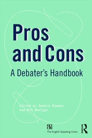 Pros and Cons : A Debaters Handbook - 19th Edition book cover