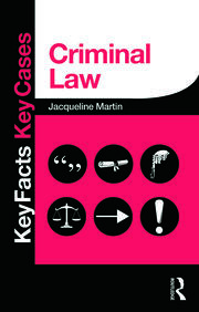 Criminal Law - 1st Edition book cover