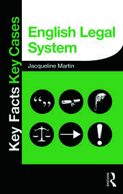 English Legal System - 1st Edition book cover
