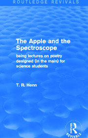The Apple and the Spectroscope (Routledge Revivals) - 1st Edition book cover
