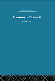 Army of Charles II - 1st Edition book cover