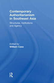 Contemporary Authoritarianism in Southeast Asia - 1st Edition book cover