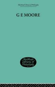 G E Moore - 1st Edition book cover