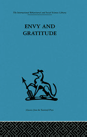 Envy and Gratitude - 1st Edition book cover