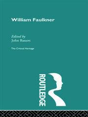 William Faulkner - 1st Edition book cover