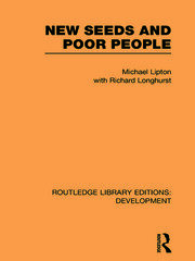 New Seeds and Poor People - 1st Edition book cover