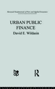 Urban Public Finance - 1st Edition book cover