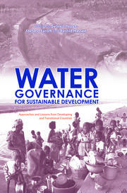 Water Governance for Sustainable Development - 1st Edition book cover