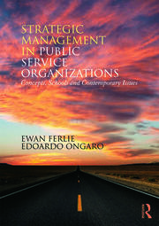 Strategic Management in Public Services Organizations - 1st Edition book cover