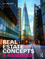 Real Estate Concepts : A Handbook - 1st Edition book cover