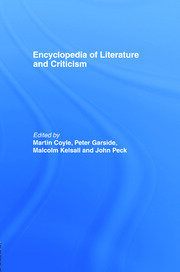 Encyclopedia of Literature and Criticism - 1st Edition book cover