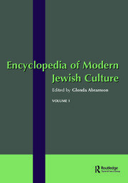 Encyclopedia of Modern Jewish Culture - 1st Edition book cover
