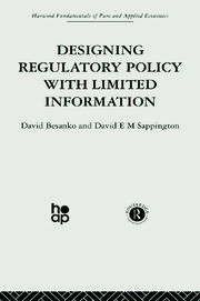 Designing Regulatory Policy with Limited Information - 1st Edition book cover