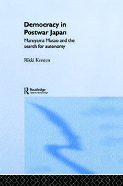 Democracy in Post-War Japan - 1st Edition book cover