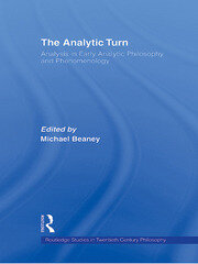 The Analytic Turn - 1st Edition book cover