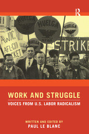 Work and Struggle - 1st Edition book cover