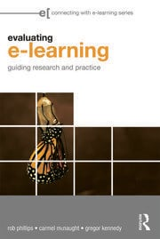 Evaluating e-Learning - 1st Edition book cover
