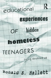 Educational Experiences of Hidden Homeless Teenagers - 1st Edition book cover