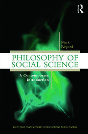 Philosophy of Social Science - 1st Edition book cover