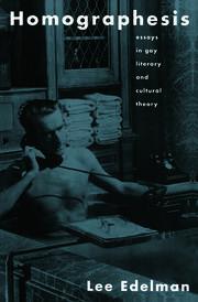 Homographesis - 1st Edition book cover