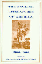 The English Literatures of America - 1st Edition book cover
