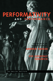 Performativity and Performance - 1st Edition book cover