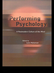 Performing Psychology - 1st Edition book cover
