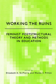 Working the Ruins - 1st Edition book cover